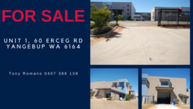Offices commercial property for sale at 1/60 Erceg Road Yangebup WA 6164