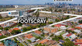 Development / Land commercial property for sale at 101-103 Droop St Footscray VIC 3011