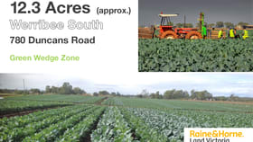 Rural / Farming commercial property for sale at 780 Duncans Road Werribee South VIC 3030