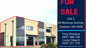 Offices commercial property for sale at 1/49 Boranup Avenue Clarkson WA 6030