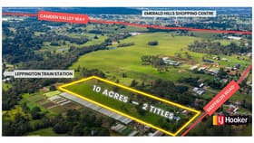 Development / Land commercial property for sale at Catherine Field NSW 2557