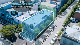 Medical / Consulting commercial property sold at 349 Moray Street South Melbourne VIC 3205