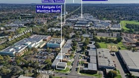 Factory, Warehouse & Industrial commercial property for sale at 1/1 Eastgate Court Wantirna South VIC 3152