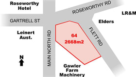 Factory, Warehouse & Industrial commercial property for sale at Lot 64 Main North Road Roseworthy SA 5371