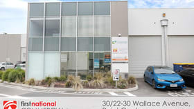 Factory, Warehouse & Industrial commercial property for sale at 30/22-30 Wallace Avenue Point Cook VIC 3030