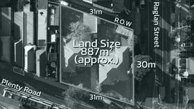 Development / Land commercial property for sale at 112-124 Plenty Road Preston VIC 3072
