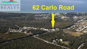 Factory, Warehouse & Industrial commercial property for sale at 62 Carlo Rd Rainbow Beach QLD 4581
