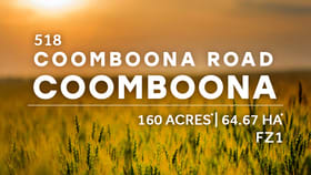 Development / Land commercial property for sale at 518 Coomboona Rd Coomboona VIC 3629