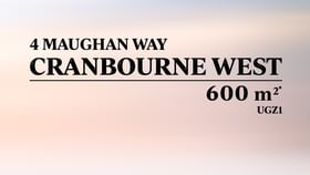 Development / Land commercial property for sale at 4 Maughan Way Cranbourne West VIC 3977