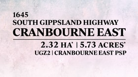 Development / Land commercial property for sale at 1645 South Gippsland Highway Cranbourne East VIC 3977