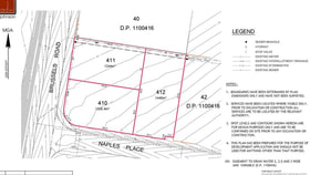 Development / Land commercial property sold at 412/OF LOT 41 Cnr Naples & Brussels Road Wyong NSW 2259