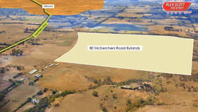 Rural / Farming commercial property for sale at 80 McKerchers Road Bylands VIC 3762