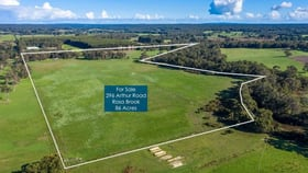 Rural / Farming commercial property for sale at 296 Arthur Road Rosa Brook WA 6285