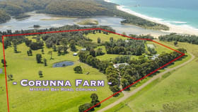 """Rural / Farming commercial property for sale at 1 DP 1134157/""""Corunna Farm"""" Mystery Bay Road Corunna NSW 2546"""