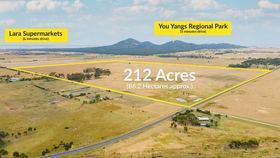 Rural / Farming commercial property for sale at 25 Farrars Road Lara VIC 3212