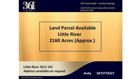 Rural / Farming commercial property for sale at Bacchus Marsh Road Little River VIC 3211