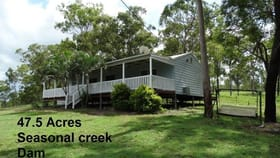 Rural / Farming commercial property for sale at 842 Gorge Road Taunton QLD 4674