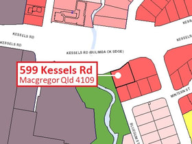Development / Land commercial property for sale at .599 Kessels Rd Macgregor QLD 4109
