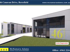 Factory, Warehouse & Industrial commercial property for sale at 46 Canavan Drive Beresfield NSW 2322