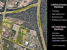 Development / Land commercial property for lease at Hazelmere WA 6055