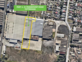 Factory, Warehouse & Industrial commercial property for lease at Part 4/35 Paramount Road Tottenham VIC 3012