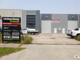 Factory, Warehouse & Industrial commercial property for lease at 75 Rodeo Drive Dandenong South VIC 3175