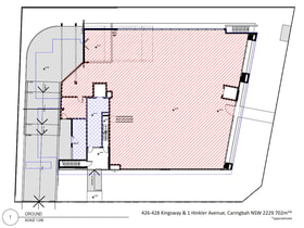 Medical / Consulting commercial property for lease at 426-428 Kingsway & 1 Hinkler Avenue Caringbah NSW 2229