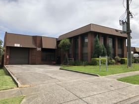 Industrial / Warehouse commercial property for lease at 34-36 Wadhurst Drive Boronia VIC 3155