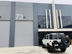 Industrial / Warehouse commercial property for lease at 73/1470 Ferntree Gully Road Knoxfield VIC 3180