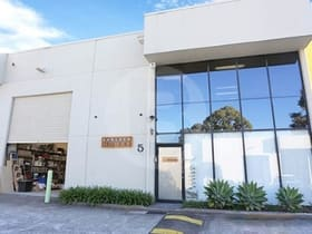 Factory, Warehouse & Industrial commercial property for lease at 5/9 HUDSON AVENUE Castle Hill NSW 2154