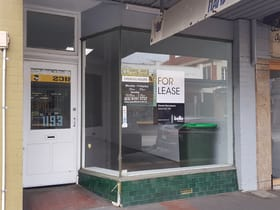 Shop & Retail commercial property for lease at 1193 Glen Huntly Road Glen Huntly VIC 3163