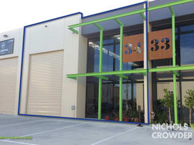 Factory, Warehouse & Industrial commercial property for lease at 34/31-33 Milgate Drive Mornington VIC 3931