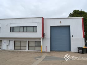Factory, Warehouse & Industrial commercial property for lease at 4/25 Michlin street Moorooka QLD 4105