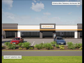 Showrooms / Bulky Goods commercial property for lease at 19 Antlia Way Australind WA 6233
