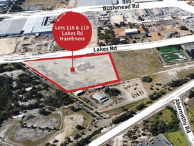 Development / Land commercial property for sale at Lots 118 & 119 Lakes Road Hazelmere WA 6055
