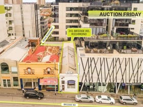Retail commercial property sold at 241 Bridge Road Richmond VIC 3121
