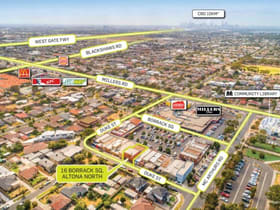 Retail commercial property for lease at 16 Borrack Square Altona North VIC 3025