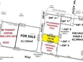 Development / Land commercial property for sale at Lot 90 Diesel Drive Paget QLD 4740