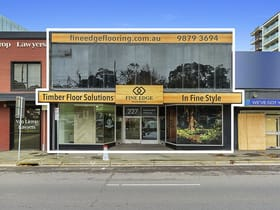 Development / Land commercial property sold at 227 Maroondah Highway Ringwood VIC 3134