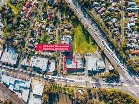 Development / Land commercial property sold at 293-295 Maroondah Highway Ringwood VIC 3134