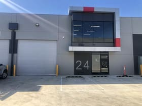 Industrial / Warehouse commercial property for sale at 24/72 Logistics Street Keilor Park VIC 3042