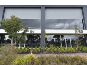 Factory, Warehouse & Industrial commercial property for sale at 85 & 86/1470 Ferntree Gully Road Knoxfield VIC 3180