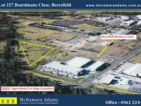 Development / Land commercial property for sale at Lot 227 Boardmans Close Beresfield NSW 2322