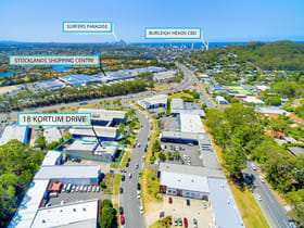 Offices commercial property for sale at 18 Kortum Dr Burleigh Heads QLD 4220