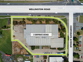 Factory, Warehouse & Industrial commercial property for sale at 2 Corporate Avenue Rowville VIC 3178
