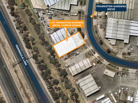 Industrial / Warehouse commercial property for sale at 1/37 Frankston Gardens Drive Carrum Downs VIC 3201