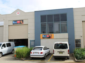 Factory, Warehouse & Industrial commercial property sold at 38/65 Captain Cook Drive Caringbah NSW 2229