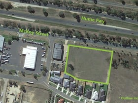 Development / Land commercial property for sale at 205-207 Mckoy Street Wodonga VIC 3690