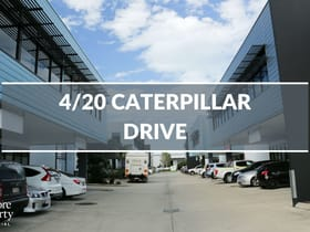 Factory, Warehouse & Industrial commercial property for lease at 4/20 Caterpillar Drive Mackay QLD 4740
