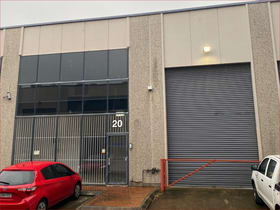 Factory, Warehouse & Industrial commercial property for sale at 20/17-21 Bowden Street Alexandria NSW 2015
